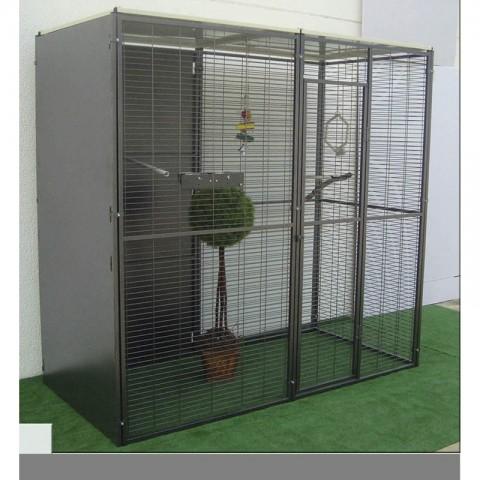 VOLADERO PARA LORO 2 m2 ( TOCHO PLANO)