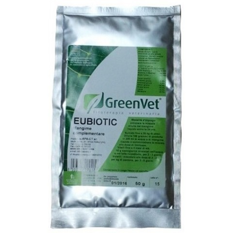 GREENVET EUBIOTIC - FLORA INTESTINAL