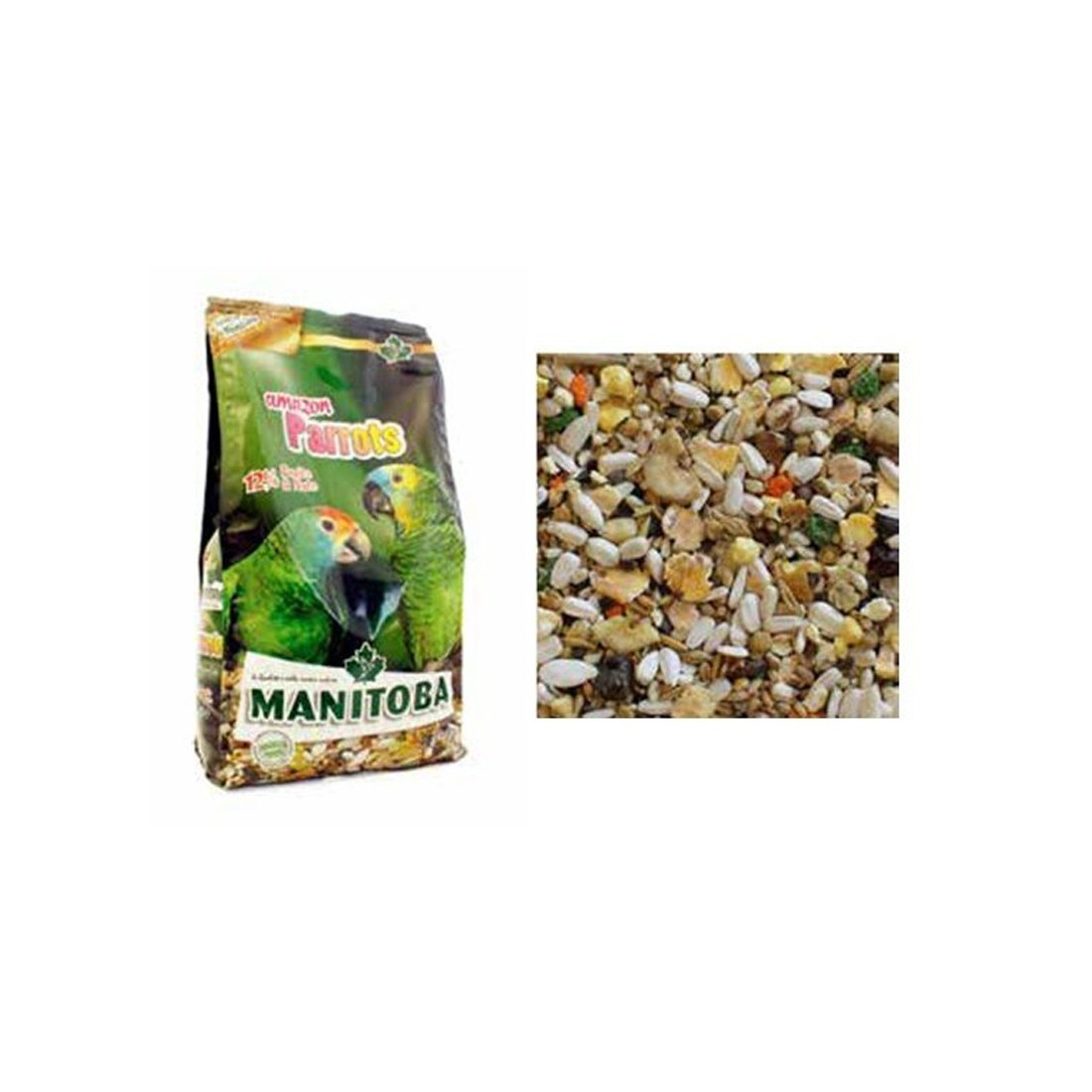 MIXTURA LOROS AMAZON PARROTS 2KG