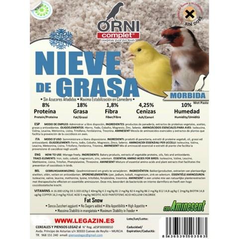 NIEVE DE GRASA