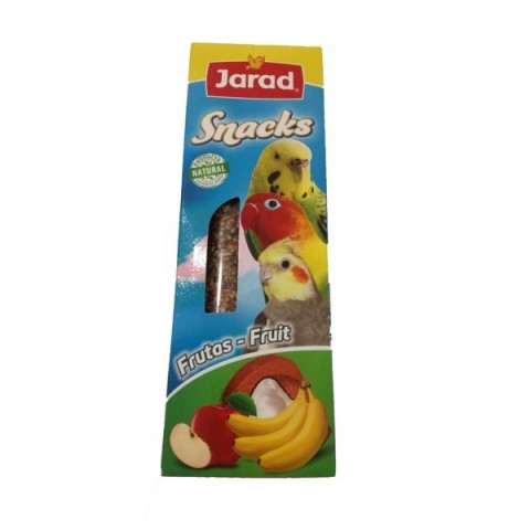 Barritas snacks frutas
