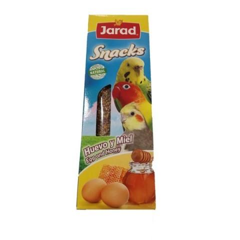 Barritas snacks huevo y miel