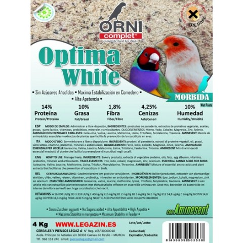 Pasta Procria Optima White