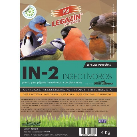 Legazin In-2 Insectivoros