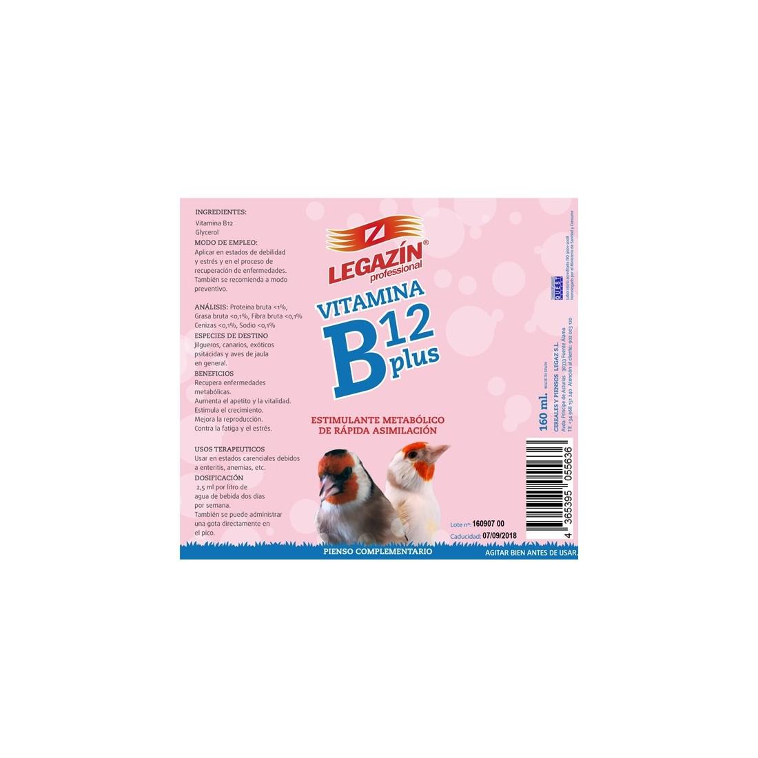 Legazin Vitamina B12 Plus