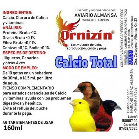 Ornizin Total Calcio