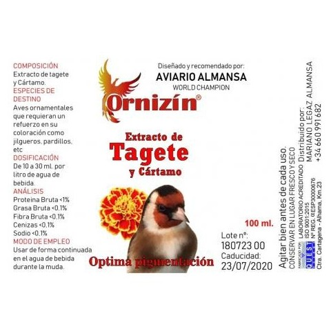 Ornizin Extracto de Tagete