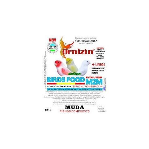 Ornizin M2M - Muda (Canarios Con Afeccion AL Dore)