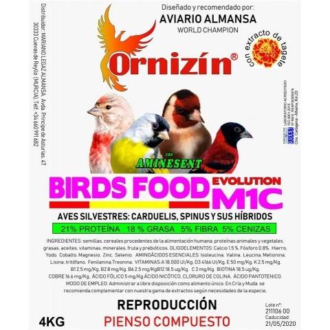 Ornizin Pienso M1C (Fauna y Silvestres)