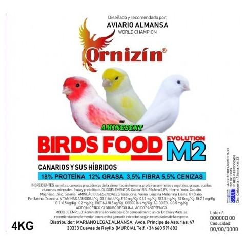 Ornizin Pienso M2 (Canarios Sin Dore)