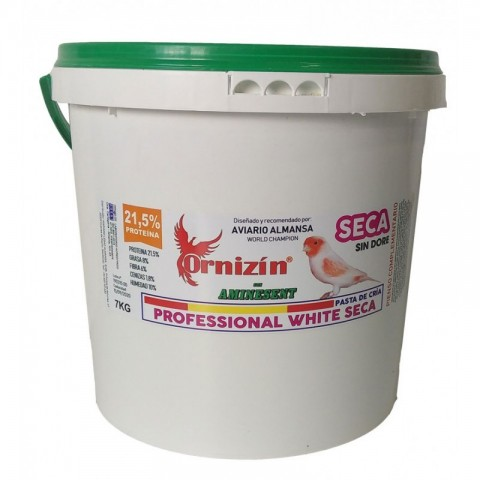 Ornizin Pasta Profesional White Seca