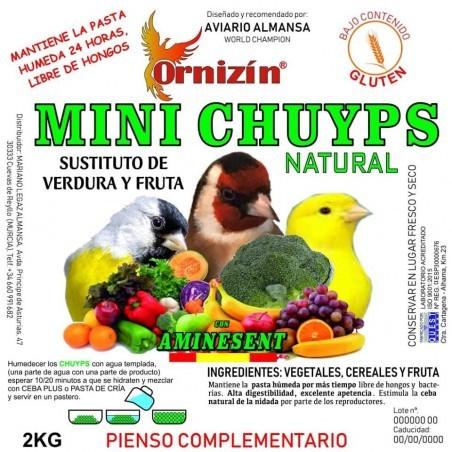 Ornizin Mini Chuyps Verdura 2kg