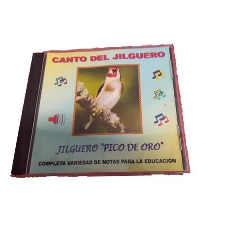 Cd Canto Jilguero Pico de Oro