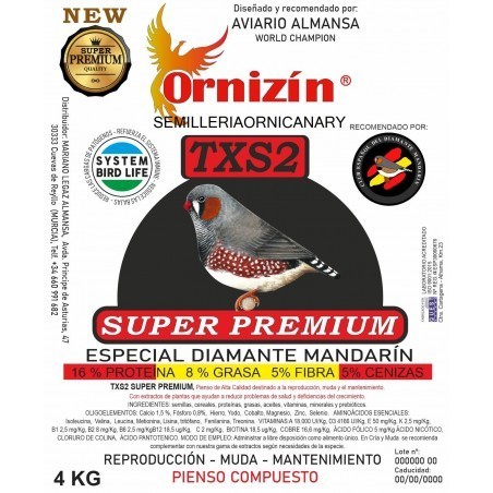 Ornizin TXS2 - Diamante Mandarin