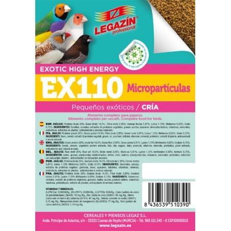 EX-110 Exotic High Energy