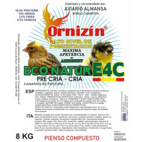 Ornizín E4C Eco Natur Postura Precría-Cría