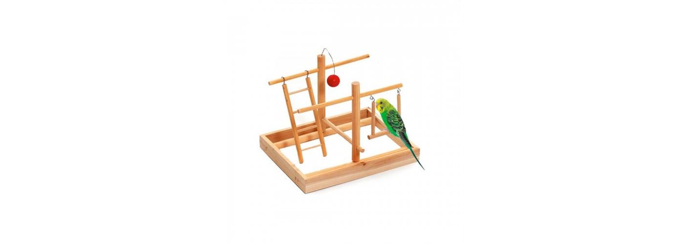 Parque de juegos para pájaros